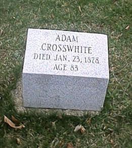 adam_crosswhite_grave_marker_marshall_michigan