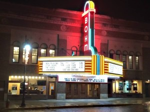 The Bohm Theatre is now fully restored after a successful 4 million dollar capital campaign.